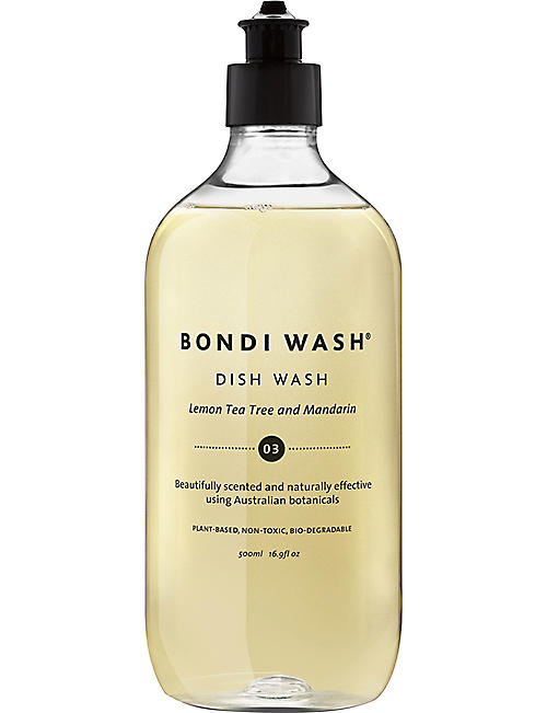 BONDI WASH Lemon & mandarin dish wash 500ml