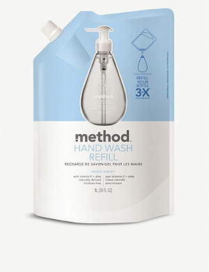 METHOD Sweet Water hand wash refill 1l