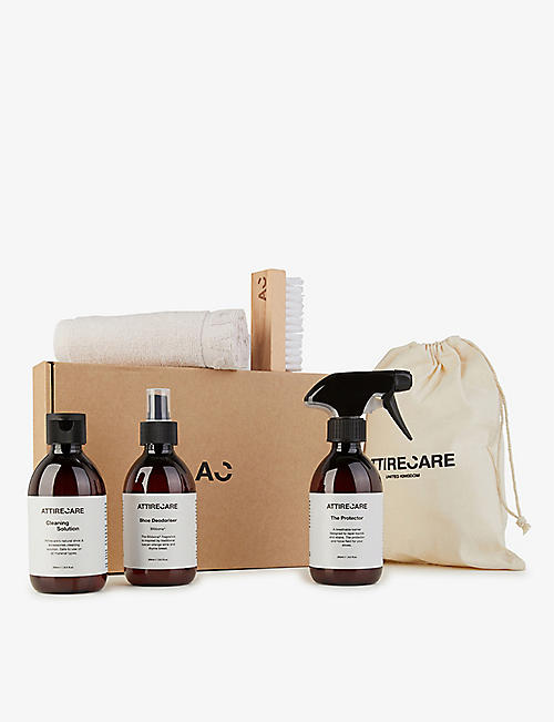 ATTIRECARE: Ultimate shoe care kit 250ml