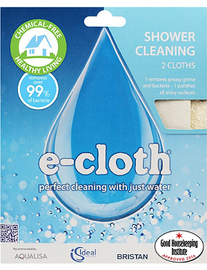 E-CLOTH Shower cleaning cloths