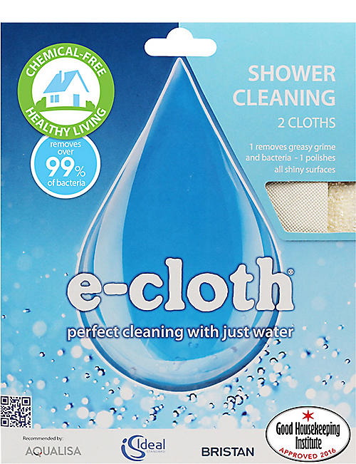 E-CLOTH: Shower cleaning cloths