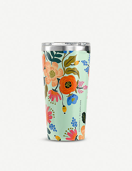 CORKCICLE Rifle Paper Co. floral-print Tumbler 454ml