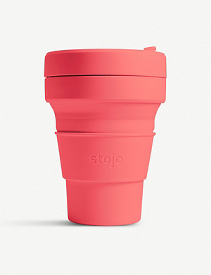 STOJO Brooklyn Pocket collapsible travel mug 355ml