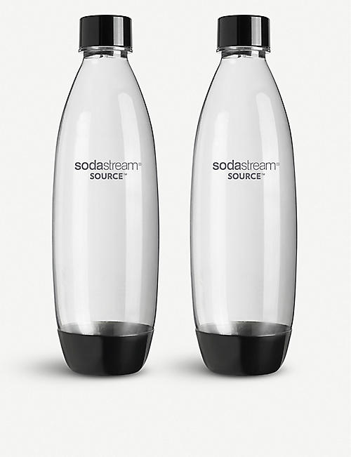 SODASTREAM Carbonating water bottles 1l pack of two