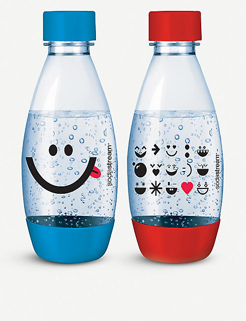 SODASTREAM Carbonating water bottles 0.5l pack of two