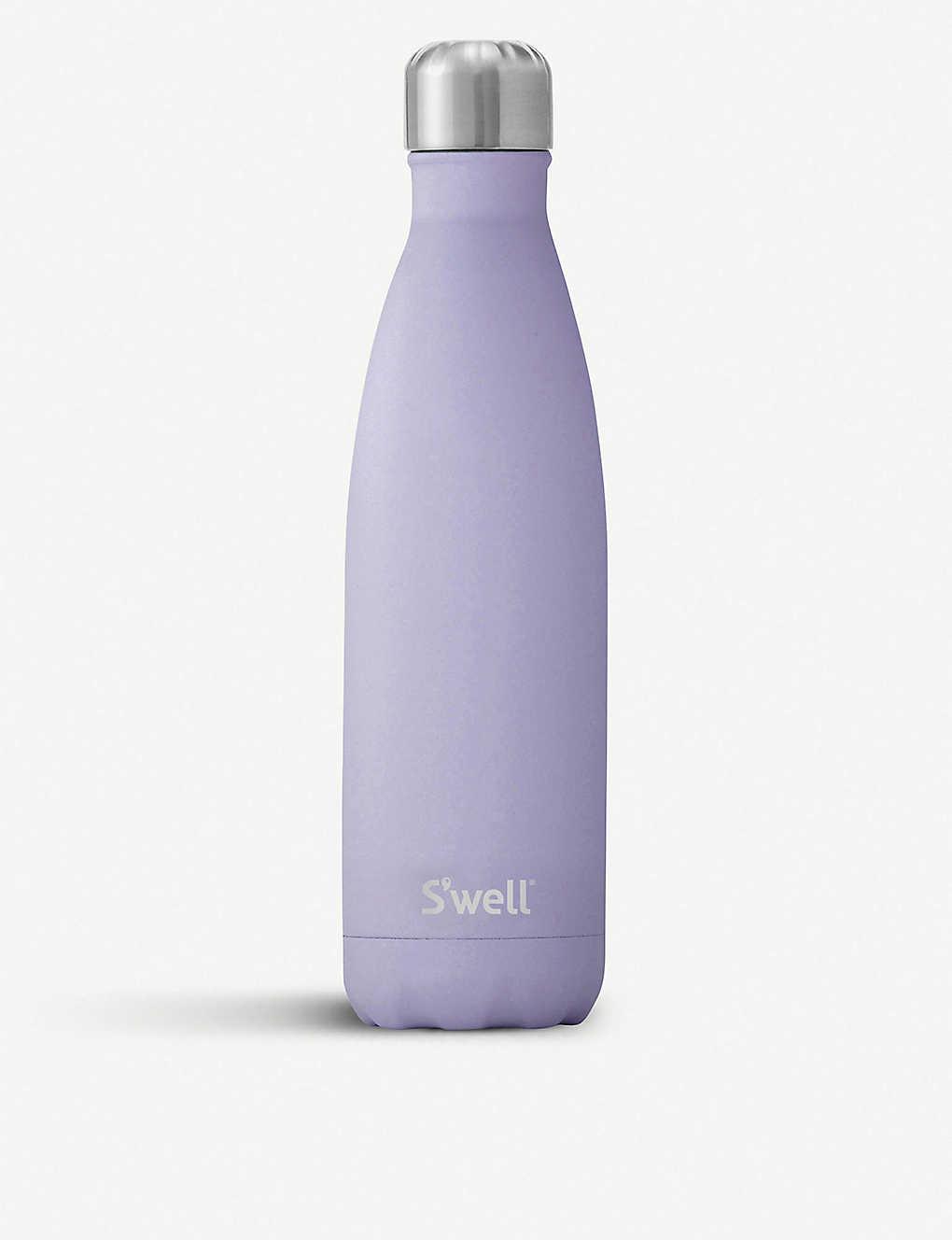 Swell Vacuum Insulated Stainless Steel Water Bottle 25 oz Purple Garnet