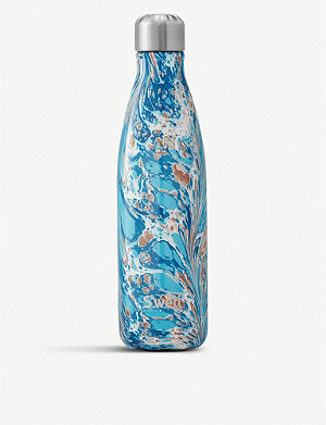 SWELL Pennellata marble-print stainless steel water bottle 500ml