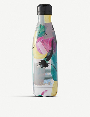 SWELL Brush Strokes print stainless steel water bottle 500ml
