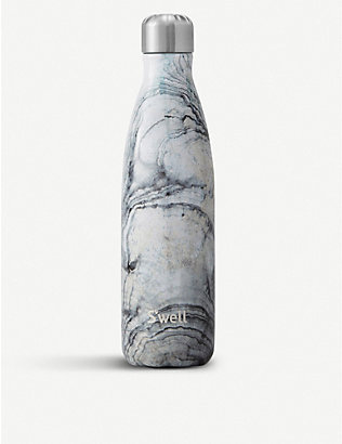 SWELL: Sandstone stainless steel water bottle 500ml