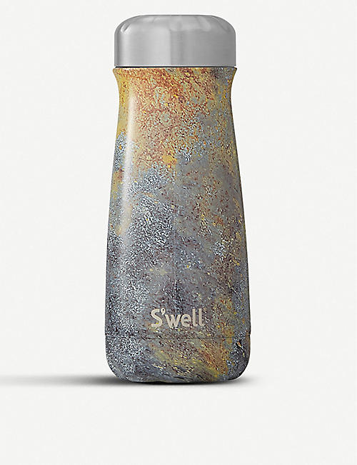 SWELL Golden Fury traveller stainless steel water bottle 470ml