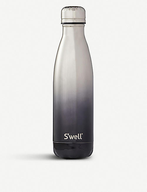 SWELL: Gold Ombre stainless steel water bottle 500ml