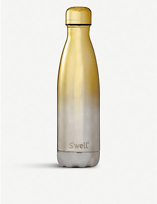 SWELL: Ombé stainless steel water bottle 500ml