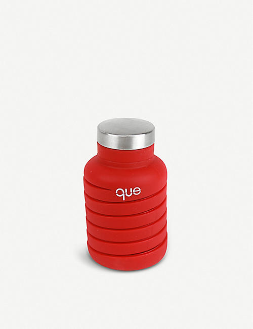 QUE Collapsible silicone bottle 600ml