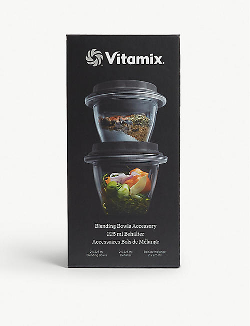 VITAMIX: Ascent series bowls set of two 225ml