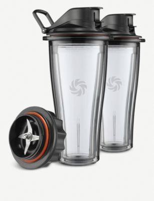 VITAMIX Ascent Series set of two cups and blade adapter