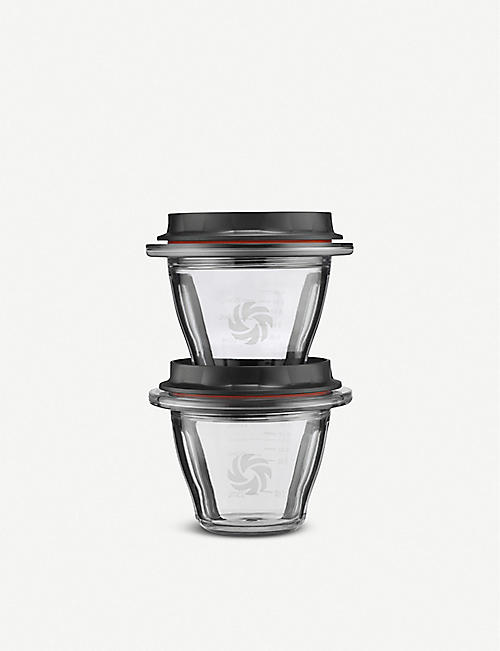 VITAMIX Ascent Blending Bowls set of two 240ml