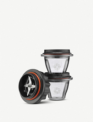 VITAMIX Ascent Series set of two Eastman Tritan® containers and blade base