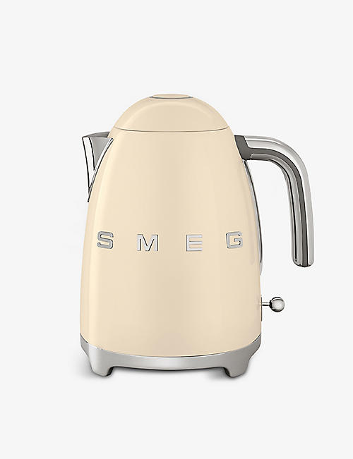 SMEG: KLF03 logo stainless steel kettle
