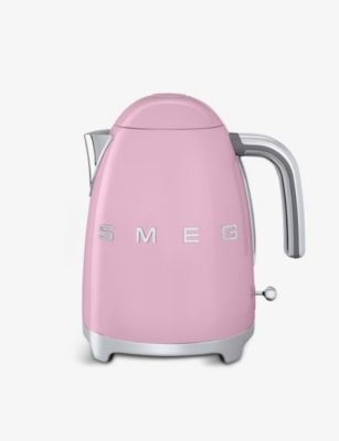 SMEG KLF03 logo stainless steel kettle