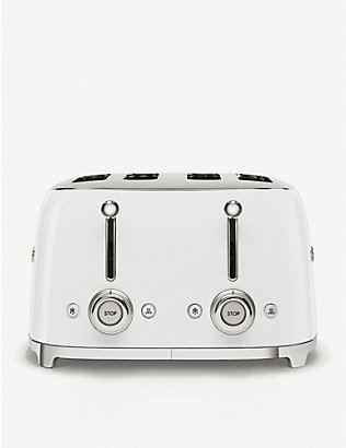 SMEG: Four-slice stainless-steel toaster
