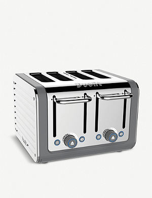 DUALIT Four slot Lite toaster granite
