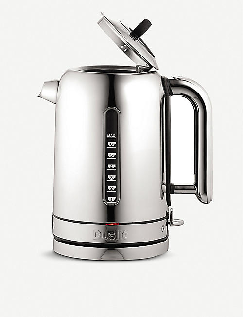 DUALIT Polished chrome classic kettle