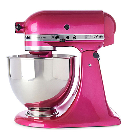 Kitchenaid Artisan Mixer Raspberry Ice Selfridges Com