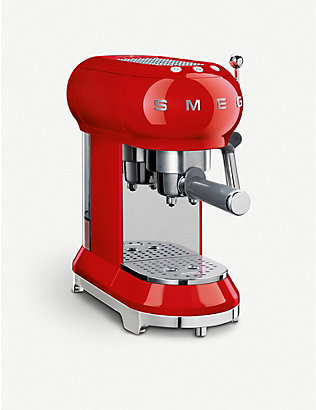 SMEG: Smeg red espresso machine