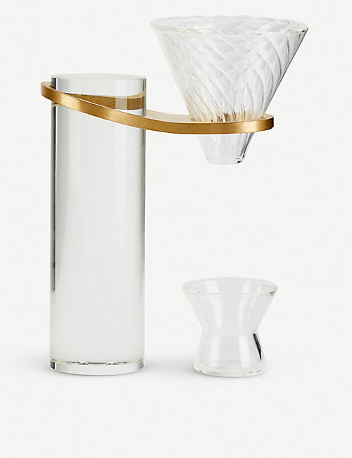 BI.DU.HAEV BASI II glass coffee stand 21cm