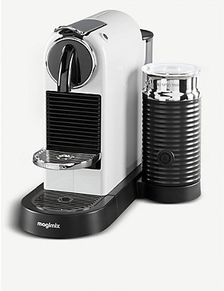 NESPRESSO: NESPRESSO Magimix CitiZ & Milk coffee machine - 11319