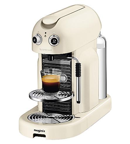 nespresso magimix maestria coffee machine. Black Bedroom Furniture Sets. Home Design Ideas