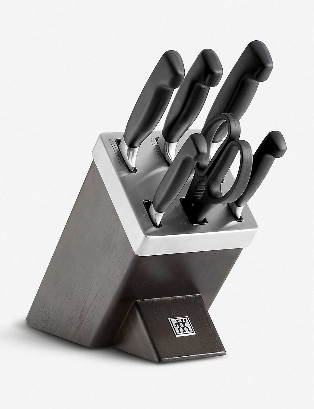 ZWILLING J.A HENCKELS: Ash Wood self-sharpening knife block