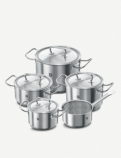 ZWILLING J.A HENCKELS: Twin Classic stainless steel cookware 5-piece set