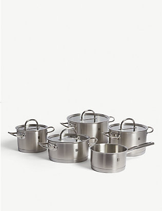 ZWILLING J.A HENCKELS: Prime cookware set of five