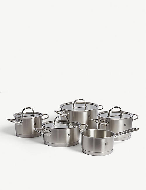 ZWILLING J.A HENCKELS Prime cookware set of five