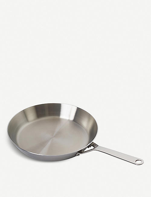 CRANE COOKWARE S1 Tri Ply stainless steel frying pan