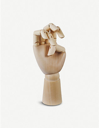 HAY: Small wooden hand decoration 13.5cm