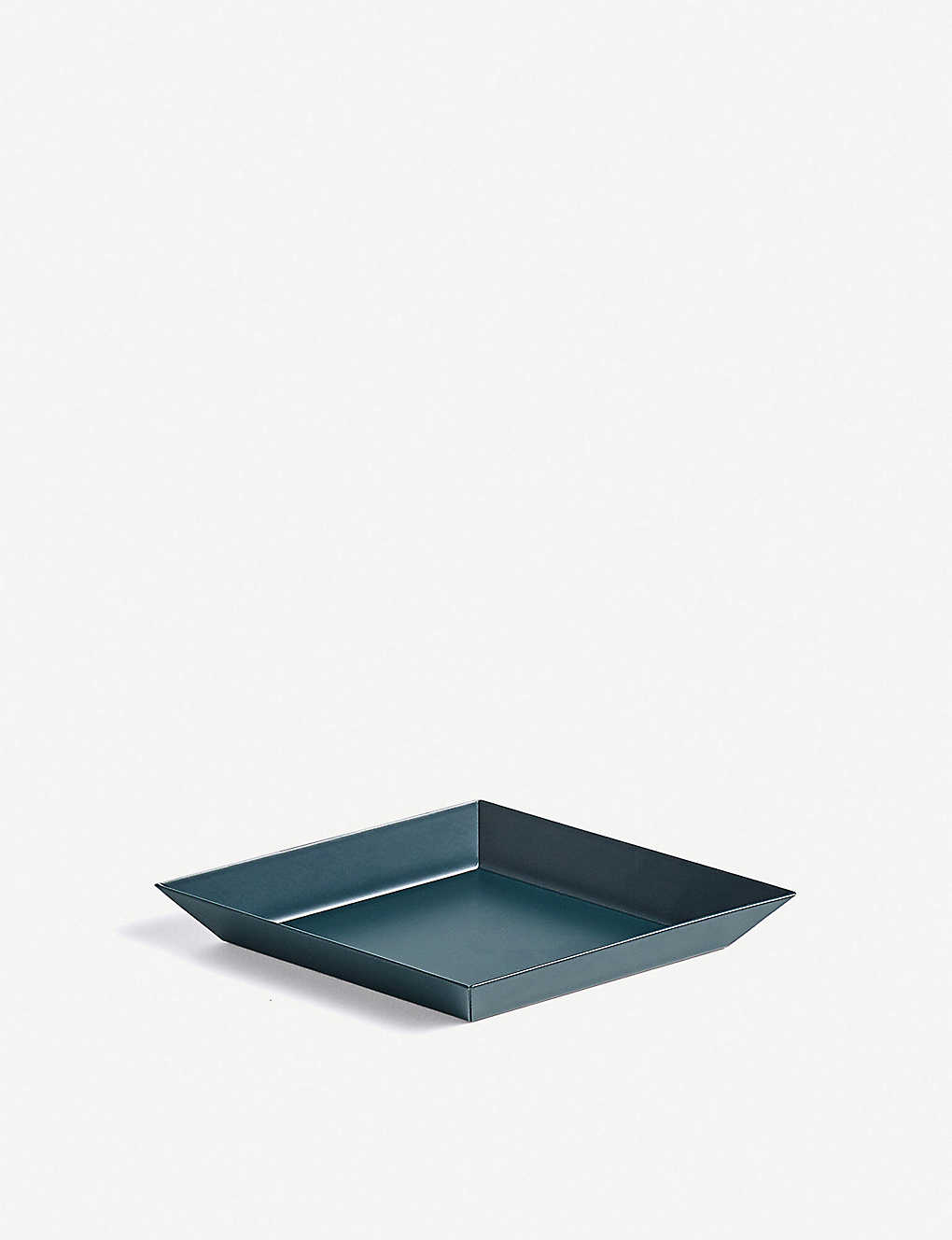 HAY: Kaleido extra small steel tray 19x11cm