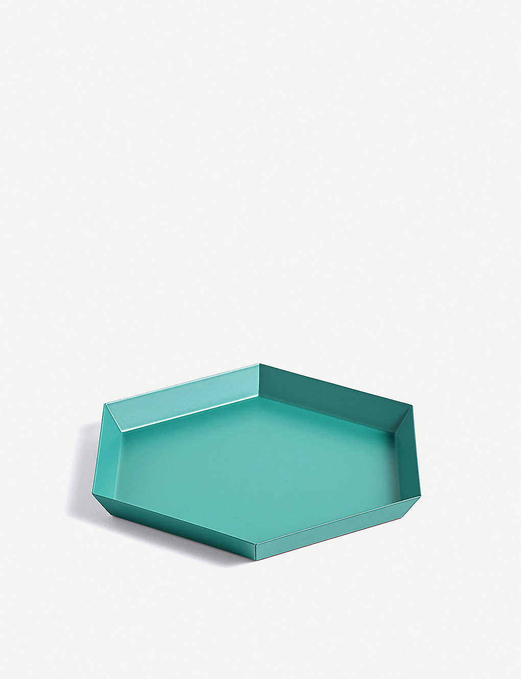 HAY: Kaleido small steel tray 22x19cm