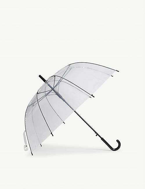 HAY: Clear canopy umbrella