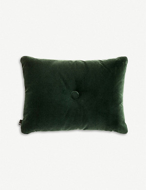 HAY Soft Dot cotton-blend cushion 60x45cm