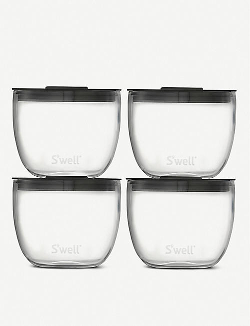 SWELL: Eats plastic food prep bowls 284ml set of four