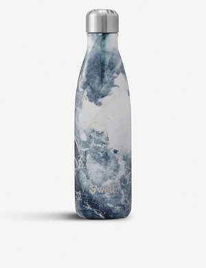 SWELL Blue granite water bottle 480ml
