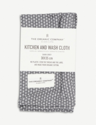 THE ORGANIC COMPANY Organic cotton kitchen and wash cloth