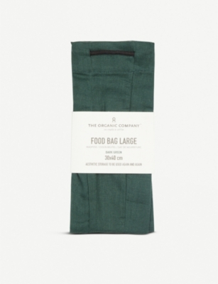 THE ORGANIC COMPANY Organic cotton large food bag 30x40cm