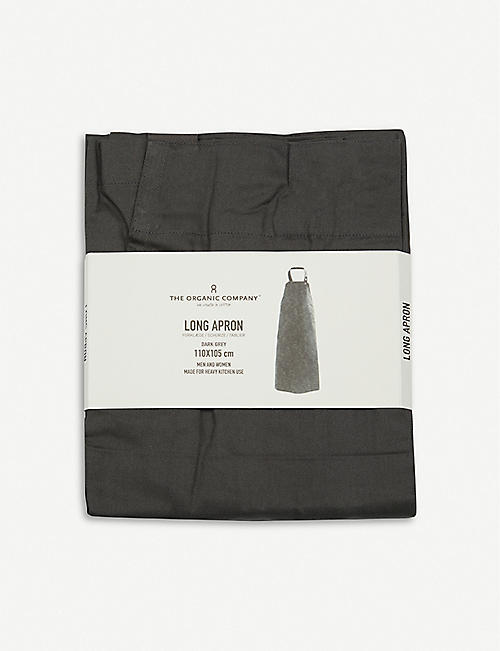 THE ORGANIC COMPANY Wrap cotton apron