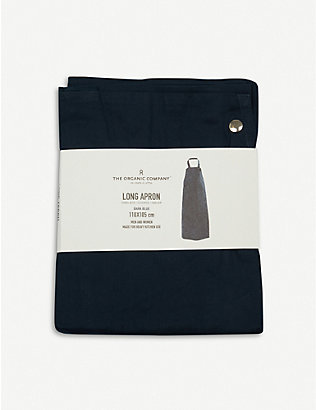 THE ORGANIC COMPANY: Wrap-around organic-cotton apron