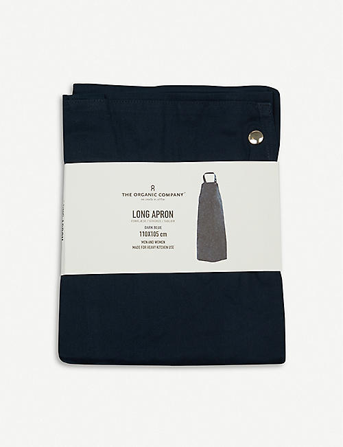 THE ORGANIC COMPANY Wrap-around organic cotton apron