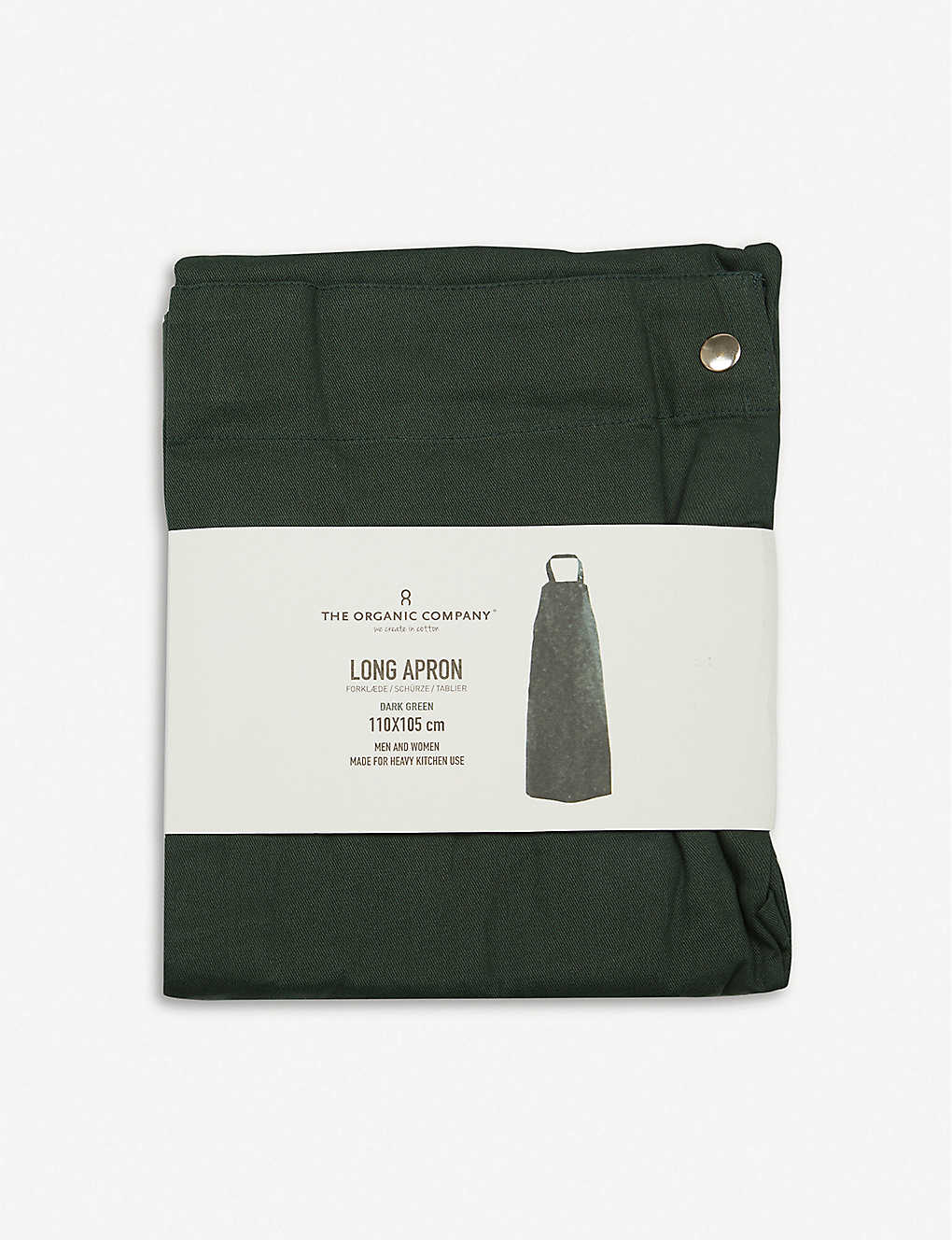 THE ORGANIC COMPANY: Wrap organic-cotton apron