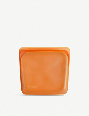 STASHER Silicone reusable sandwich bag